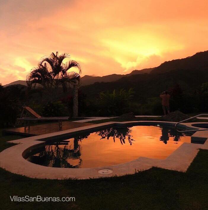 costa rica sunset casa lapas